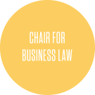 chair for business law