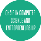 chair in computer science and entreprenureship