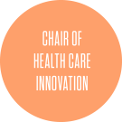 chair of healthcare innovation