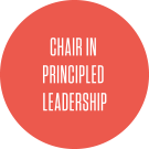 chair in principled leadership